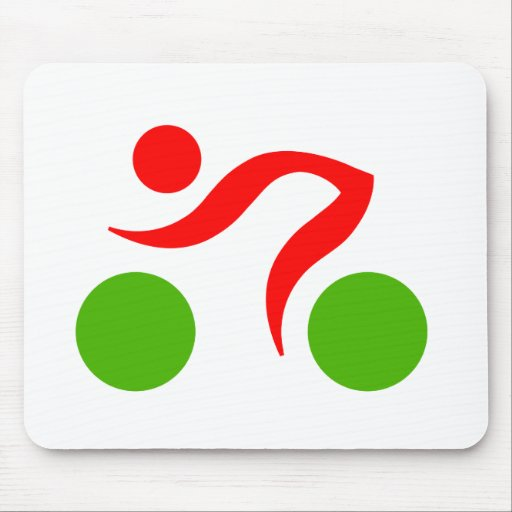 Cycling cool logo mouse pad