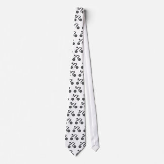 Cycling cool logo neck tie