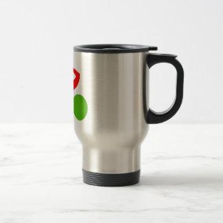Cycling cool logo travel mug