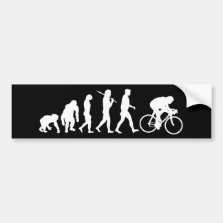 Cycling Cyclists pedal power Racing Bicycle gifts Car Bumper Sticker