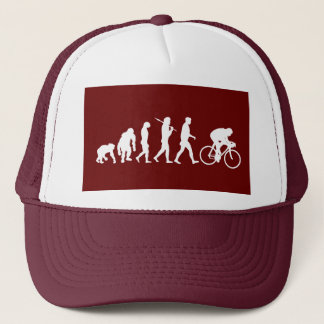Cycling Cyclists pedal power Racing Bicycle gifts Trucker Hat