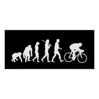 Cycling Cyclists pedal power Racing Bicycle sports Poster