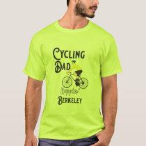 Cycling Dad Reppin' Berkeley T-Shirt