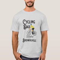 Cycling Dad Reppin' Brownsville T-Shirt