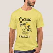 Cycling Dad Reppin' Charlotte T-Shirt