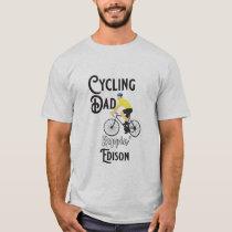 Cycling Dad Reppin' Edison T-Shirt