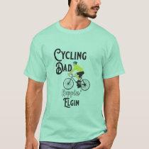 Cycling Dad Reppin' Elgin T-Shirt