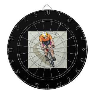 Cycling Dartboard With Darts