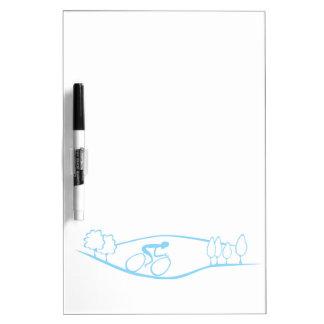 Cycling Design Dry Erase Board