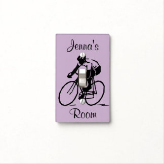Cycling Design Light Switch Cover