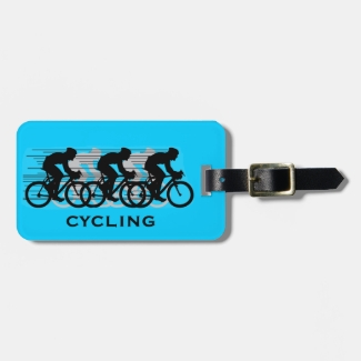 Cycling Design Luggage Tags