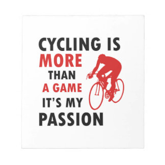 cycling design notepad
