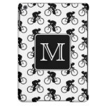 Cycling Design with Custom Monogram Cover For iPad Air