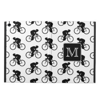 Cycling Design with Custom Monogram iPad Air Cover
