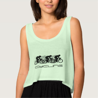 Cycling Design Woman's tee tank