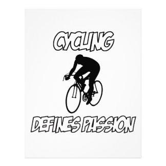 cycling designs customized letterhead