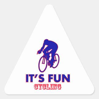 cycling Designs Triangle Sticker