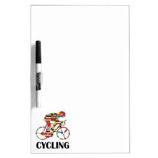 Cycling Dry Erase Board