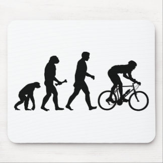 Cycling Evolution Mouse Pad