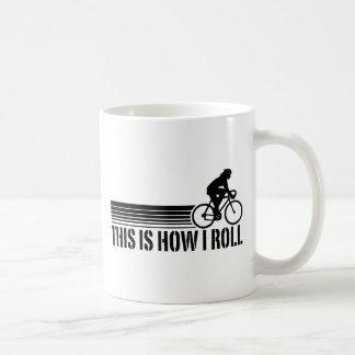 Cycling (female) coffee mug