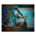 Cycling for Winning and Success Poster