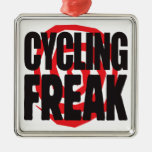 Cycling Freak Christmas Tree Ornament
