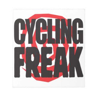 Cycling Freak Scratch Pads