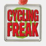 Cycling Freak R Christmas Tree Ornaments