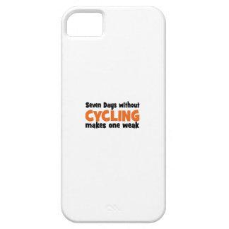 cycling iPhone 5 carcasas