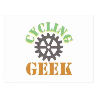 Cycling Geek Postcard
