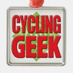 Cycling Geek v2 Ornament