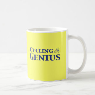 Cycling Genius Gifts Classic White Coffee Mug