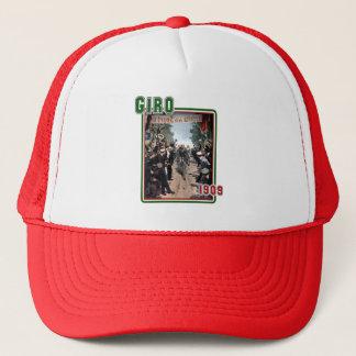 Cycling Giro 1909 Italy flag Retro Vintage Art Trucker Hat