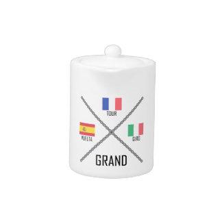 Cycling Grand Tours Teapot