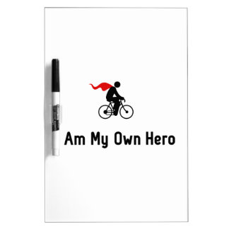 Cycling Hero Dry Erase Board