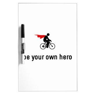 Cycling Hero Dry-Erase Board