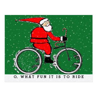 cycling holidays card
