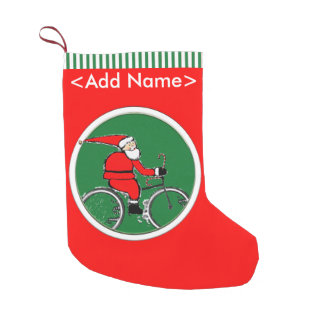 cycling holidays small christmas stocking - Christmas Stocking Design Ideas