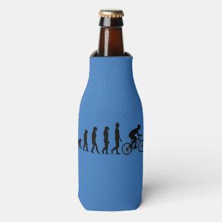 Cycling Human Evolution Scheme Bottle Cooler