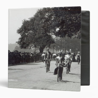 Cycling in Hyde Park, c.1910 3 Ring Binders