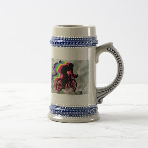 Cycling in the Clouds Coffee Mug
