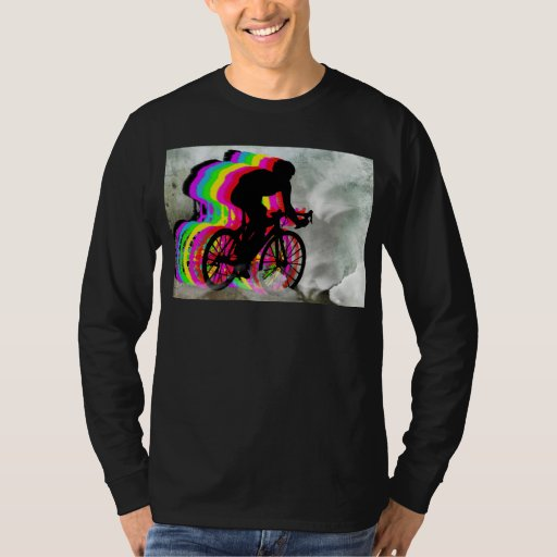 Cycling in the Clouds T Shirt