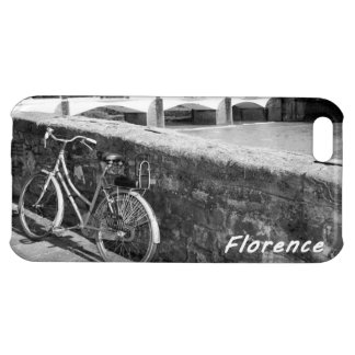 Cycling in the Italian city of Florence iPhone 5C Cover