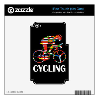Cycling iPod Touch 4G Skin