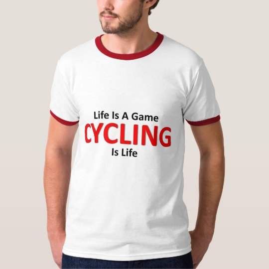 Cycling is life T-Shirt