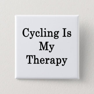 Cycling Is My Therapy Button