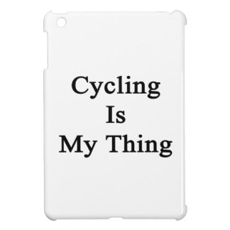 Cycling Is My Thing iPad Mini Cover