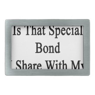 Cycling Is That Special Bond I Share With My Wife. Rectangular Belt Buckle