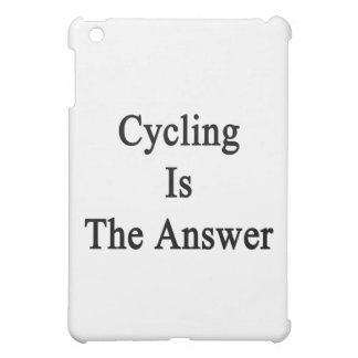 Cycling Is The Answer Case For The iPad Mini