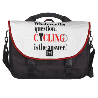 Cycling is the Answer Commuter Bag